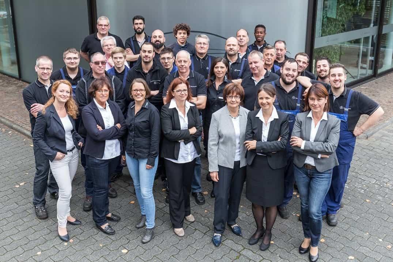 Mercedes-Benz-Werkstatt-Autohaus-Zorn-in-brühl-Teamfoto